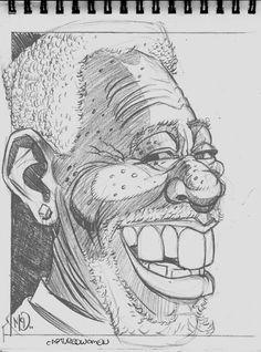 Morgan Freeman by Jim McDermott