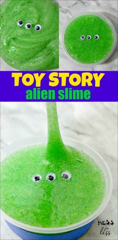 Alien Toy Story Slime - Mess for Less