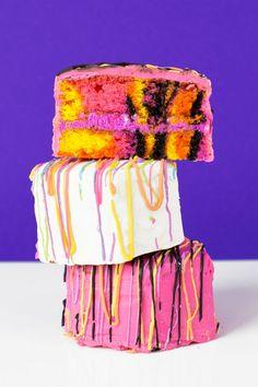 Lisa Frank Zebra Cakes   Studio DIY   Bloglovin'