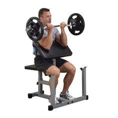 Body-Solid Powerline PPB32X Preacher Curl Bank, Scott Curl Bank Body-Solid http://www.amazon.de/dp/B000VLRVS2/ref=cm_sw_r_pi_dp_s5DVwb1BC13EW