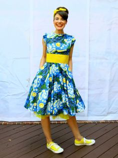 Cassie Stephens: DIY: A Starry Night Dress (Yes, Another One)