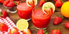 Super Culinária - Suco de laranjas com morangos