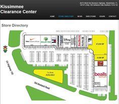 Mapa Kissimmee Clearance Center
