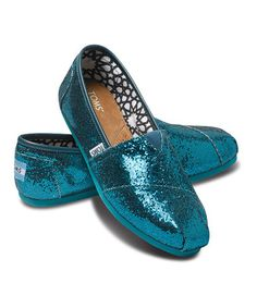 Take a look at this Emerald Glitters - Women by TOMS.. They remind me of mermaids!