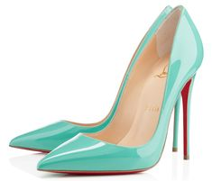 I'm speechless. Christian Louboutin So Kate patent pumps