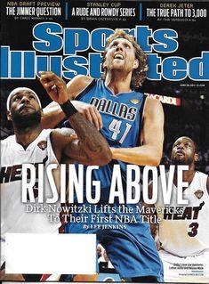4c0d34dc1 Sports Illustrated magazine Dirk Nowitzki Dallas Mavericks Hockey Derek  Jeter