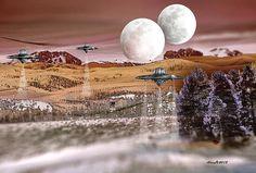 A fun surreal sci-fi image..hope you enjoy it!