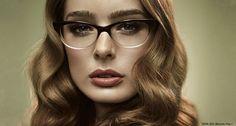 Brown Half by Masunaga #Glasses #Masunaga