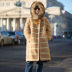 Street Style Star: Chic Winter Coats  Coat season is officially here, see how the style set wear chic toppers on the street.