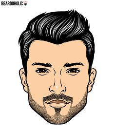 4. Defined Lines - Defined Lines Beard In Short Beard Styles