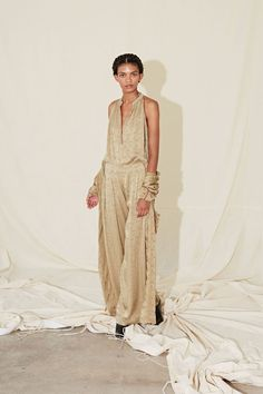 Raquel Allegra Spring/Summer 2018 Ready To Wear | #NYFW #British