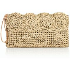 Designer Clothes, Shoes & Bags for Women Beige Purses, Metallic Clutches, Summer Purses, Summer Handbags, Crochet Handbags, Crochet Purses, Macrame Purse, Metallic Handbags, Crochet Tote