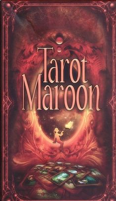 Tomasz Maronski tarot Maroon