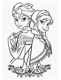 Karlar ülkesi Frozen Boyama Sayfası Ela Frozen Coloring Sheets