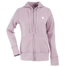 MLB Texas Rangers Women's Signature Hood, Mid Pink, Small  http://allstarsportsfan.com/product/mlb-texas-rangers-womens-signature-hood-mid-pink-small/  80% Cotton, 20% Polyester Full Zip Hood Team Logo Embroidered On The Left Chest