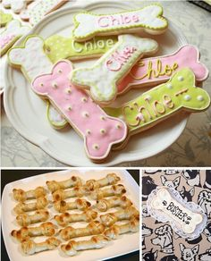 Birthday Party Dog Bones / foods and other ideas
