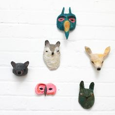 Want to get into paper mache with girlies. something like this would be fun!