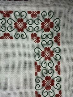 Cross Stitch Borders, Cross Stitch Alphabet, Modern Cross Stitch, Cross Stitch Flowers, Cross Stitch Designs, Cross Stitching, Cross Stitch Embroidery, Embroidery Patterns, Cross Stitch Patterns