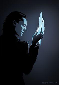 Jotun Loki by trzecipromien.deviantart.com on @deviantART