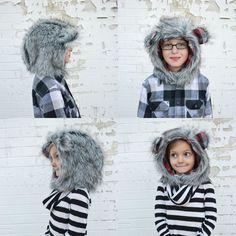 Fur Hood Pattern and Tutorial // lemon squeezy home