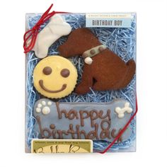 All Natural Birthday Boy Pet Treats - 2 packages! Available at http://doggyinwonderland.com/item_1343/All-Natural-Birthday-Boy-Pet-Treats--2-packages.htm