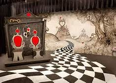 alice in wonderland set design ideas - Bing Images