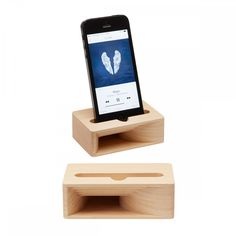 SMARTPHONE SPEAKER, Wood - MERCI