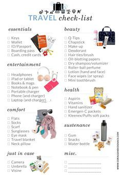 What to take with you in your hand luggage Free Travel Checklist - C . - What to take with you in your hand luggage Free travel checklist – Camping Checklist – - Free Travel, Travel List, Travel Guide, Dc Travel, Oregon Travel, Group Travel, Travel Trip, Travel Tours, Florida Travel