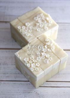 Midsummer Night's Soap - Elderflower Cold Process Soap