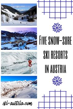 Find out more about Austria's high-altitude ski resorts. Ski-Austria looks at five destinations with snowsure skiing throughout the winter season. Austrian Ski Resorts, Ski Austria, Skiing, Winter Season, All Over The World, Workouts, Snow, Country, Funny