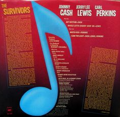 Rare and Desirable Survivors Extended Play 45 RPM Promo Only Record. A very rare and seldom encountered extended play 45 record made to promote the 1980's collaboration of Johnny Cash, Jerry Lee Lewis and Carl Perkins album The Survivors. This record was made only for radio station and contains four songs; one solo by each and one song by all three. In mint condition. #johnnycash #Survivors #45RPM
