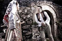 Православная традиционная одежда из Баня-Луки (столица Республики Сербской в составе Боснии и Герцеговины) #Сербия