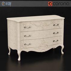 Vittorio Griffoni chest of drawers  #models #3dmodeling #modeling #turbosquid #3dartist #viktor_log #design #interior