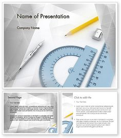 http://www.poweredtemplate.com/11551/0/index.html Drafting Tools PowerPoint Template