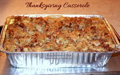 Thanksgiving Casserole: a Little Bit of Heaven on a Plate! The simplest, most savory and delicious way to use your Thanksgiving leftovers.