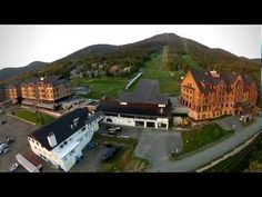 Aerial footage of Jay Peak Resort taken this fall from an RC Quad-copter. Vermont Ski Resorts, Jay Peak Resort, Luxury Resorts, Collaboration, Skiing, Mansions, House Styles, World, Ski