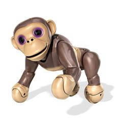 Zoomer-Chimp-INTERACTIVE-Kid-Toy-By-Spin-Master-Voice-Command-Spin-Movement-NEW