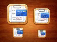 Bill Organizer iOS Icon