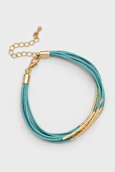 Mina Bracelet in Turquoise on Emma Stine Limited