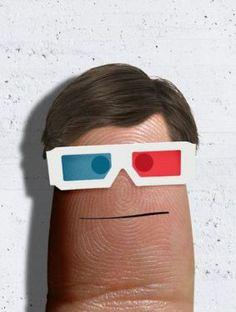 gafas anaglifo Finger
