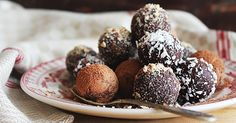 Goda choklad- och avokadobollar