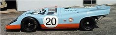 "962group.com :: The Finest in Motorsport Porsche 917-022 CONVERTED INTO 1970 ""K"" SPECIFICATIONS.  SOLD TO SOLAR PRODUCTIONS (STEVE MC QUEEN) FOR FILMING ""LE MANS"" MOVIE. PAINTED LIGHT BLUE AND ORANGE."