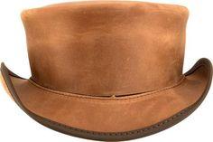 Marlow Plain Top Hat (no band) - The Biker Nation Plain Tops d1fc0faf2264