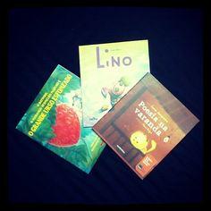 Chegou hoje minha #coleção com três #livros #infantis que a #Fundação #Itaú #Social está #doando. São oito milhões de livros para estimular e incentivar o gosto pela #leitura com nossas #crianças. Visite o site www.itau.com.br/itaucrianca e saiba mais! | Arrived today my #collection with three #children's #books that Itaú Social Foundation is #donating. Are eight millions of books to stimulate and encourage the love of #reading with our children. Visit www.itau.com.br/itaucrianca to learn…