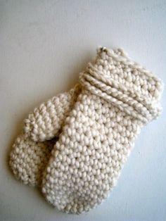 crochet mitten pattern