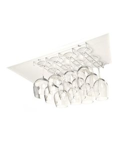 Look at this #zulilyfind! White Stemware Holder #zulilyfinds