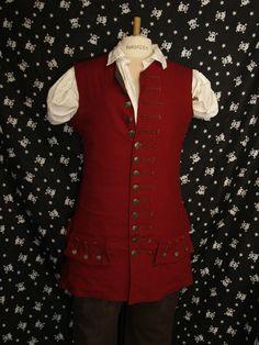 Pirates waistcoat