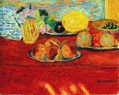 Pierre Bonnard - Still Life with Melon