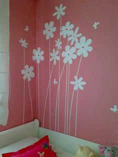 Awesome Wall Texture Design Pink Everything You Need To Know 530 Wall Painting Decor, Wall Decor, Girl Room, Girls Bedroom, Trendy Bedroom, Kids Decor, Diy Room Decor, Wall Texture Design, Bedroom Wall Designs
