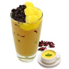 Red bean&Pudding milk tea Taro Bubble Tea, Bubble Tea Flavors, Red Beans, Milk Tea, Panna Cotta, Pudding, Chocolate, Ethnic Recipes, Dulce De Leche
